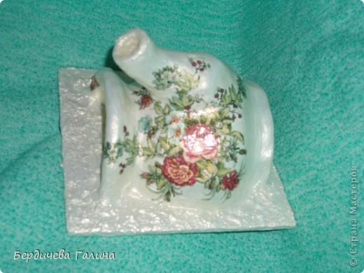 Распиленный чайничек на самом деле изготовлен из бумаги на основе МК Елены КЗ http://stranamasterov.ru/node/361260.    фото 3