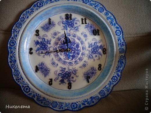 очень мне нравились часы на сковородке, которые делают наши мастера, вот получились такие кофейные часики и к ним деревце фото 7
