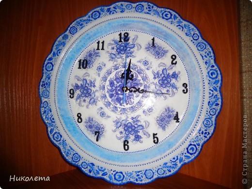 очень мне нравились часы на сковородке, которые делают наши мастера, вот получились такие кофейные часики и к ним деревце фото 8