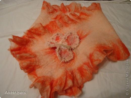Новый шарфик в подарок племяннице. фото 5