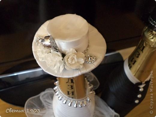 Свадебный сезон в разгаре, только успевай... Выставляю на Ваш суд свои поделочки свадебные. фото 4