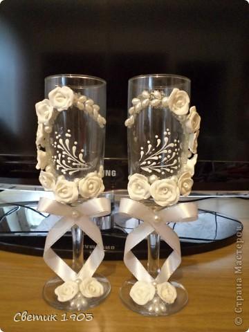 Свадебный сезон в разгаре, только успевай... Выставляю на Ваш суд свои поделочки свадебные. фото 10
