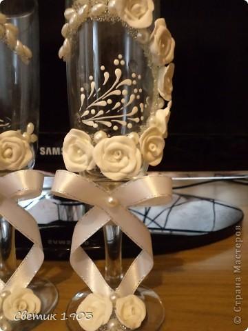 Свадебный сезон в разгаре, только успевай... Выставляю на Ваш суд свои поделочки свадебные. фото 11