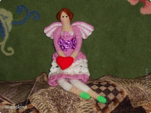 Сшить так и не собралась. Так вот пришлось связать.  Спасибо Алоне Рабинович за её прекрасный МК http://www.liveinternet.ru/users/maoskina/post218321009/ фото 1