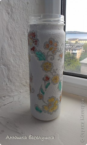 Бутылка. Кракле на ПВА.  фото 5