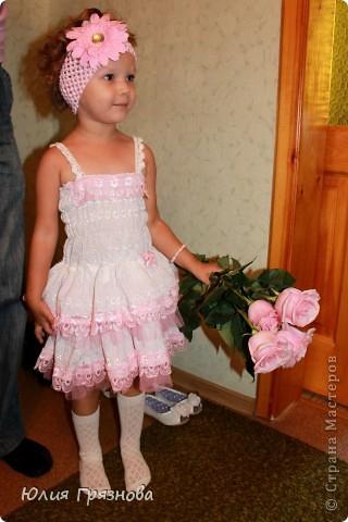 Еще один цветок для украшения шапки! И все та же меховая шубка! (мы ее очень любили) фото 12