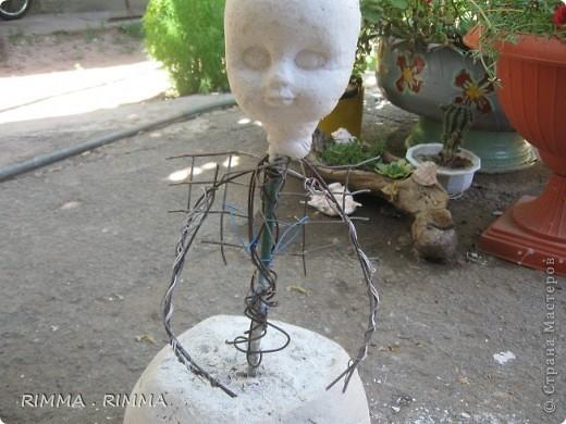 Как делать садовые статуэтки своими руками