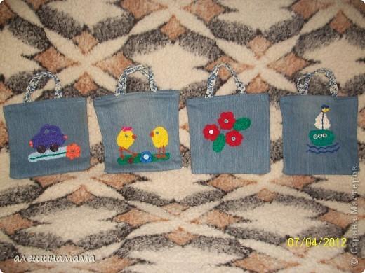 В том сентябре сынулька мой пошел в садик, вот и начала мама рукодельничать:шить, вязать. Вот первый рюкзачек- мишка. фото 8
