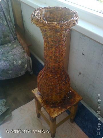 Хвастаюсь! напольная ваза! фото 5