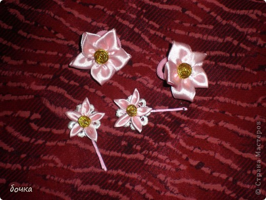 Повязка и резинки для девочки Мальвинки фото 2