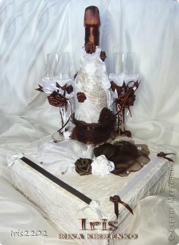 """Свадебный набор """"Шоколадный рай""""  фото 1"""