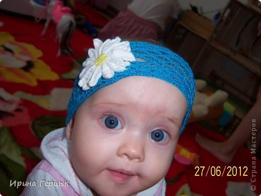 Повязка на младенца! фото 21