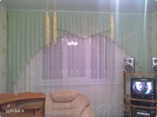 Я очень люблю шить, пробую шить шторы. Оцените, пожалуйста мои работы! фото 3