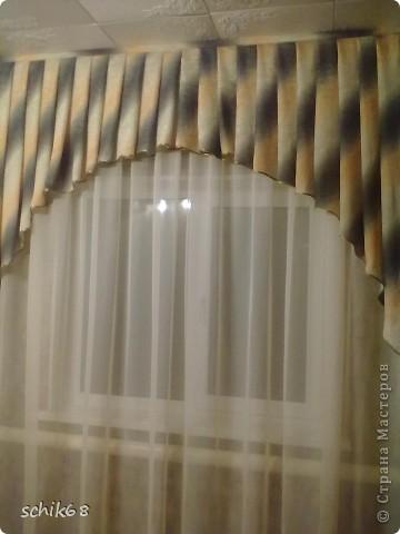 Я очень люблю шить, пробую шить шторы. Оцените, пожалуйста мои работы! фото 2