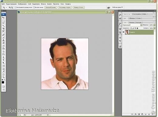 ДОБРОГО ВРЕМЕНИ СУТОК!!! Попробую показать и объяснить как делаю шаблон в графическом редакторе Photoshop. У меня стоит версия Photoshop CS3. --------------------------------------------------- Должна сказать, что используя Photoshop хорошо  получаются фотографии в качестве портрета, где светлый фон и нет множества лишних деталей.  Есть два варианта создания шаблона: ПЕРВЫЙ - используя коррекцию изображения ИЗОГЕЛИЯ и ДИФФУЗИЮ. ВТОРОЙ - используя фильтр ПОЧТОВАЯ БУМАГА   фото 2