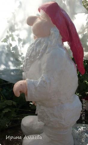 фигурка для сада Гном высотой 11Осм фото 8