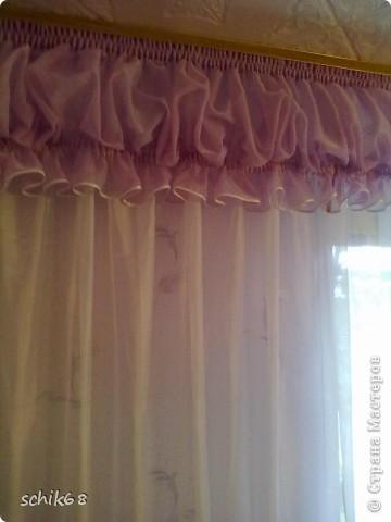 Я очень люблю шить, пробую шить шторы. Оцените, пожалуйста мои работы! фото 6