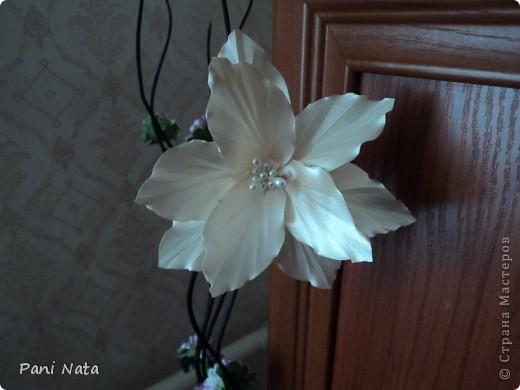 Мой фотоотчет по лилии ,Спасибо огромное за масстер-класс Елене Демидовой (ELENA DEMIDOVA)  !!! Вот такая лилия у меня получилась !!! фото 3