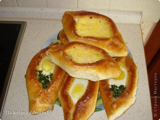 Попытка сделать хачапури по-аджарски (с яйцом)... фото 2