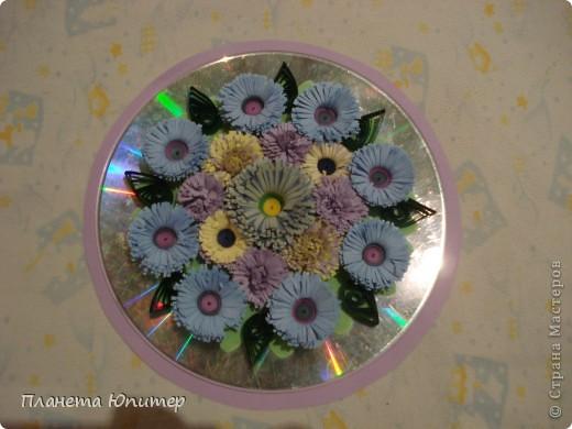 Поделки на 8 марта из дисков своими руками