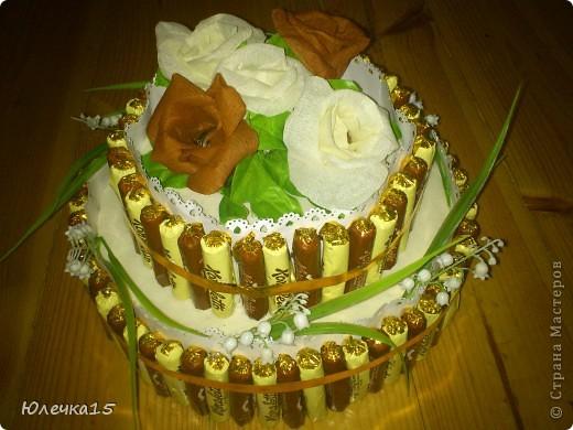 Вот такой подарок-торт повезу свекрови на 55-летие фото 1