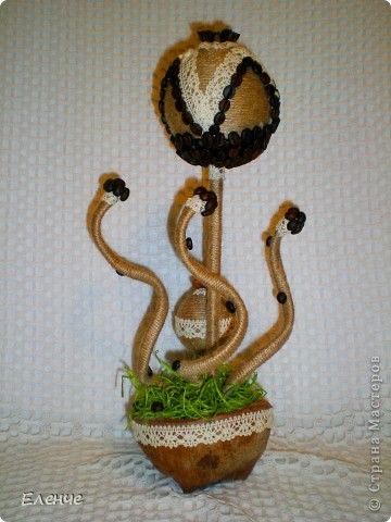 Клиент решил положиться на моё усмотрение... из пожеланий было: кофе и чтобы подошло женщине за 45, и чтобы цветы не покупать)))) фото 8