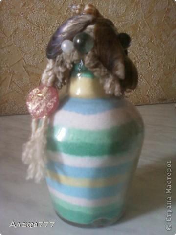 Вот ещё одна мини бутылочка...извиняюсь за качество.. фото 1