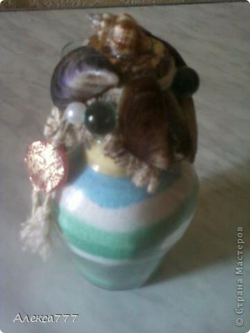 Вот ещё одна мини бутылочка...извиняюсь за качество.. фото 4