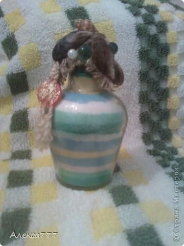 Вот ещё одна мини бутылочка...извиняюсь за качество.. фото 5