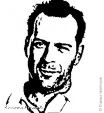 ДОБРОГО ВРЕМЕНИ СУТОК!!! Попробую показать и объяснить как делаю шаблон в графическом редакторе Photoshop. У меня стоит версия Photoshop CS3. --------------------------------------------------- Должна сказать, что используя Photoshop хорошо  получаются фотографии в качестве портрета, где светлый фон и нет множества лишних деталей.  Есть два варианта создания шаблона: ПЕРВЫЙ - используя коррекцию изображения ИЗОГЕЛИЯ и ДИФФУЗИЮ. ВТОРОЙ - используя фильтр ПОЧТОВАЯ БУМАГА   фото 24