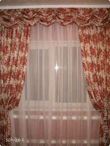 Я очень люблю шить, пробую шить шторы. Оцените, пожалуйста мои работы! фото 1