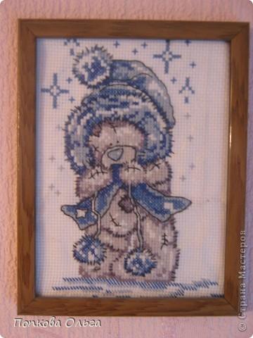 Люблю вышивать крестиком, а особенно милых мишек Тедди!)) фото 2
