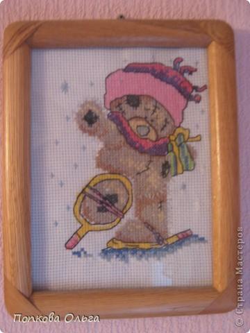 Люблю вышивать крестиком, а особенно милых мишек Тедди!)) фото 5