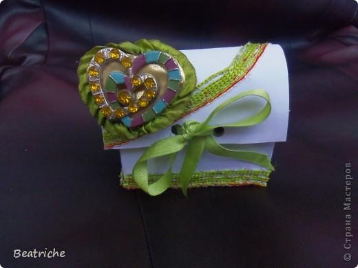 коробочка сундучка  создана по мастер-класу Ловлю-улыбку ( http://stranamasterov.ru/node/391201?c=favorite).  фото 3