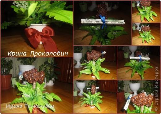 Сделала ребятам на свадьбу будет украшать свадебный стол молодоженов)) фото 2