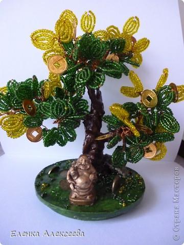 из бисера денежные деревья