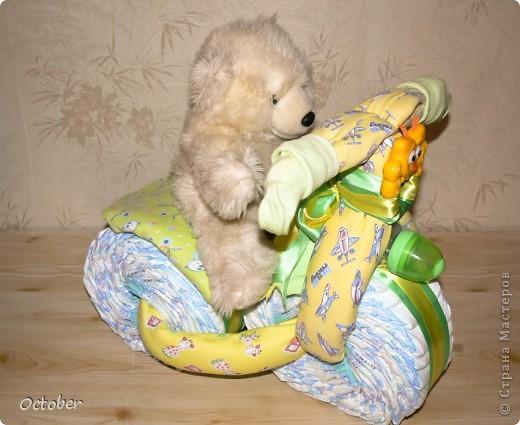 Большое спасибо пользователем сайта - за такую подсказку!)) Появился повод - рождение маленького человечка, и вот что у меня получилось.  фото 1