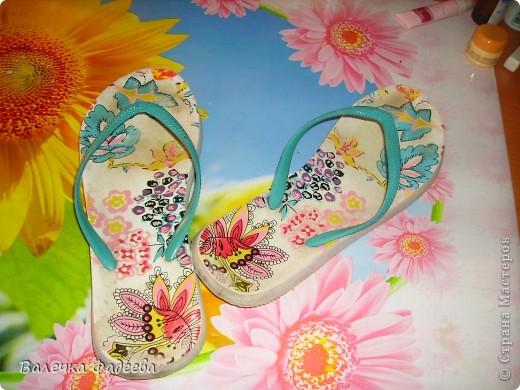 """""""Оживила"""" пляжную обувь))) фото 2"""