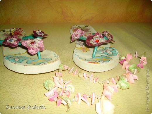 """""""Оживила"""" пляжную обувь))) фото 3"""