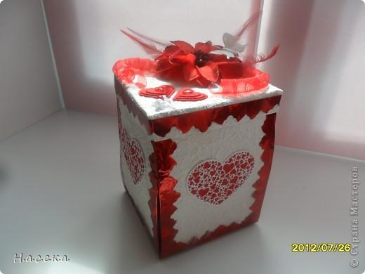 Подарок на свадьбу моей сестричке. Она очень любит свечи а я снежные шары, я все объединила и получился оригинальный подарочек!!! фото 1