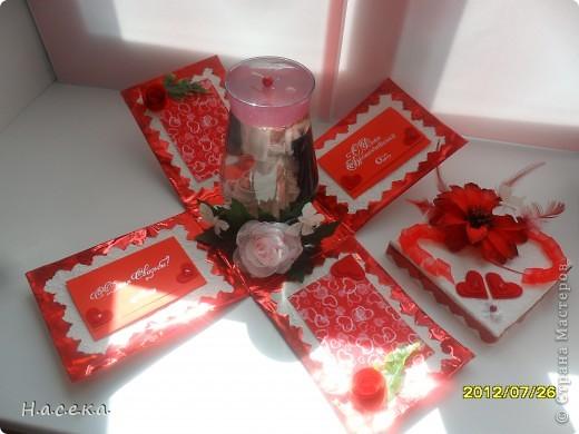 Подарок на свадьбу моей сестричке. Она очень любит свечи а я снежные шары, я все объединила и получился оригинальный подарочек!!! фото 5