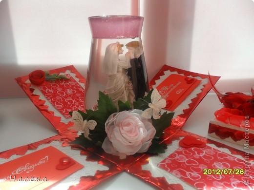 Подарок на свадьбу моей сестричке. Она очень любит свечи а я снежные шары, я все объединила и получился оригинальный подарочек!!! фото 6