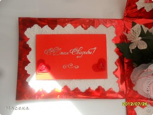 Подарок на свадьбу моей сестричке. Она очень любит свечи а я снежные шары, я все объединила и получился оригинальный подарочек!!! фото 7
