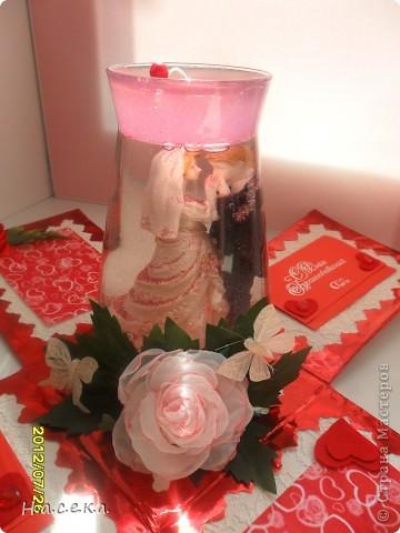 Подарок на свадьбу моей сестричке. Она очень любит свечи а я снежные шары, я все объединила и получился оригинальный подарочек!!! фото 10