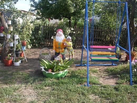 фигурка для сада Гном высотой 11Осм фото 15