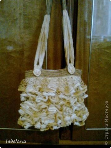 Кто-то вяжет шарфики а я решила сумочку фото 1
