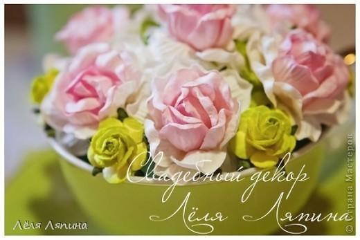 """Оформление свадьбы """"Розовый & Зеленый"""" 21 апреля. фото 5"""