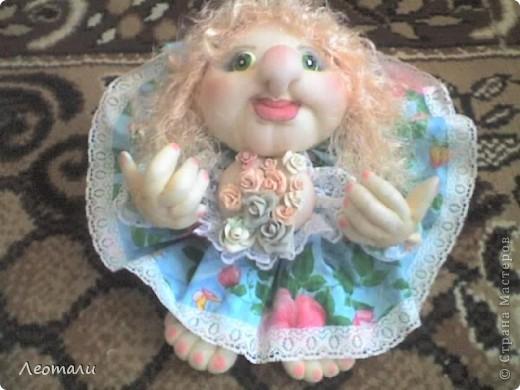 Здравствуйте дорогие.Наконец нашла как делать куклу попика с грудью.Вот такая мечта поэта получилась. фото 3