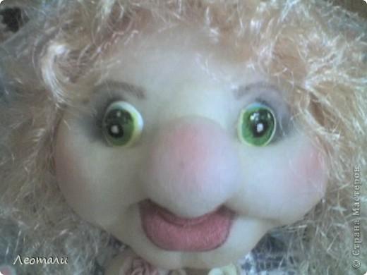 Здравствуйте дорогие.Наконец нашла как делать куклу попика с грудью.Вот такая мечта поэта получилась. фото 4