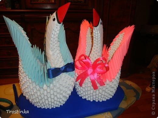 Лебеди на годовщину свадьбу!!! фото 1